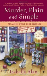 Murder, Plain and Simple by Isabella Alan (aka Amanda Flowers)